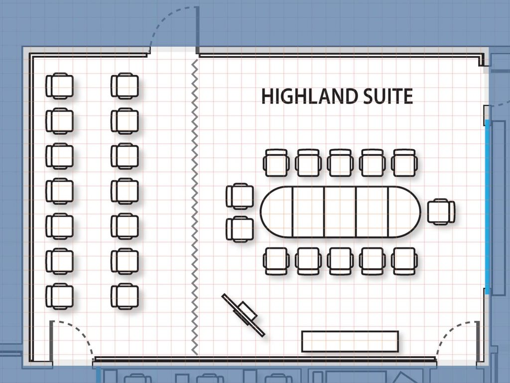 Highland Suite diagram