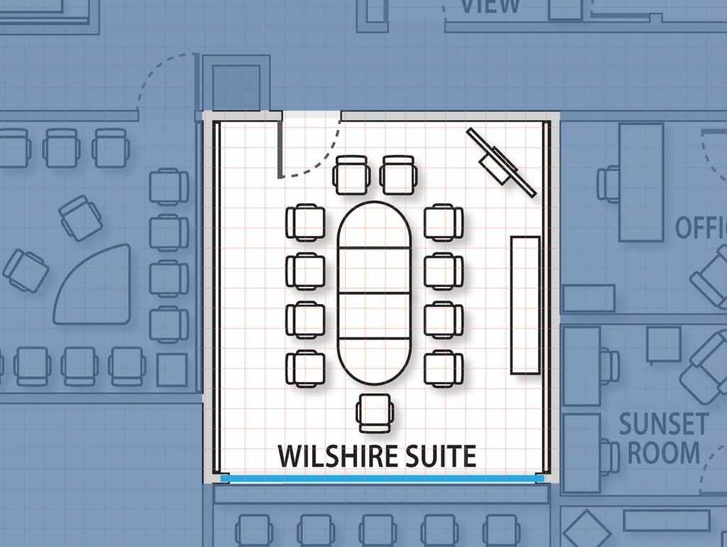 Wilshire Suite diagram